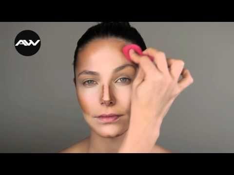 Contouring técnica de maquillaje correctivo paso a paso - YouTube