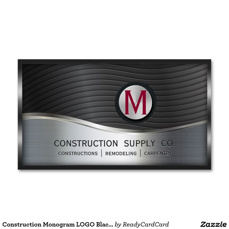 36 best Construction and Maintenance Business Cards Ideas images on ...
