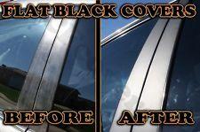 Chrysler 300M 99-04 Pillar Covers in FLAT BLACK Matte 3M Di-Noc Vinyl Trim b