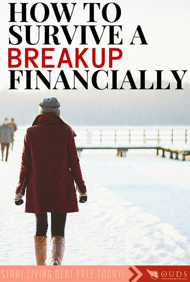 If I had a rand for the number of times I've sat with a client who's now in financial hardship due to a relationship gone bad I'd have had enough to retire by now.    Nowadays a breakup can be just as bad as going through a divorce, if not worse from