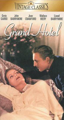 """BEST PICTURE: (1932) """"GRAND HOTEL"""" A group of very different individuals staying at a luxurious hotel in Berlin deal with each of their respective dramas.Stars: Greta Garbo, John Barrymore, STARS: Joan Crawford"""