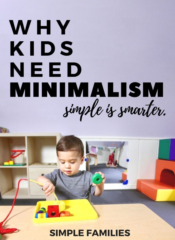 16 best parenting images on pinterest minimalism for Minimalist living with children