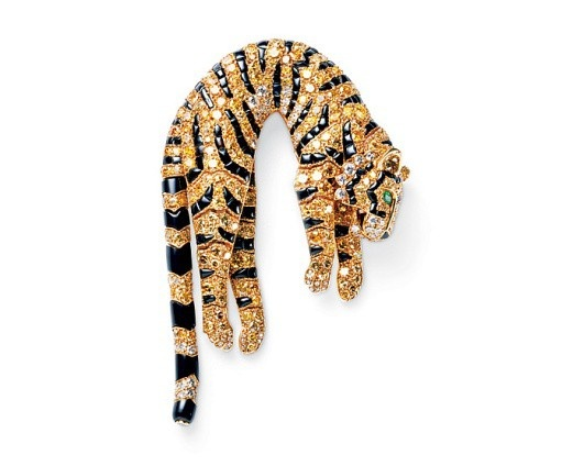 : Articulated Tiger, Cartier, Brooches, Pin, Jewelry, Jewels, Tigers, Barbara Hutton, Tiger Brooch