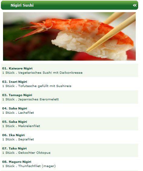 Probieren Sie die ausgezeichneten Nigiri Sushi Spezialitäten Düsseldorfs, wie z.B. Kaiware Nigiri, Inari Nigiri, Tamago Nigiri, Sake Nigiri, Saba Nigiri, Ika Nigiri, Tako Nigiri, Maguro Nigiri, Ebi Nigiri, Anago Nigiri, Ama Ebi Nigiri, Shiromi Nigiri, Sake Tataki Nigiri, Maguro Tataki Nigiri, Masago Nigiri, Hamachi Nigiri. http://sushiduesseldorf.wordpress.com/2012/09/17/nigiri-sushi-spezialitaten-beim-sushi-lieferservice-dusseldorf-online-bestellen/