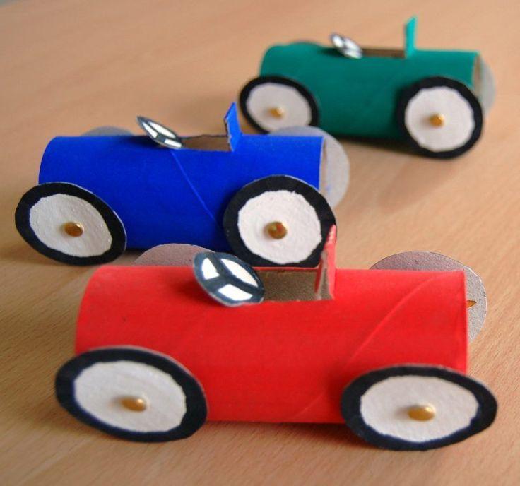 Rulodan Araba Yapımı
