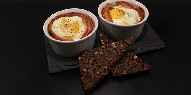 Brunch indeholder æg og bacon, men hvad med at kombinere de to?