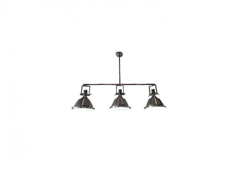 Maritime Industrial Pendant-3 Cluster - Ceiling Lights | Interiors Online - Furniture Online & Decorating Accessories