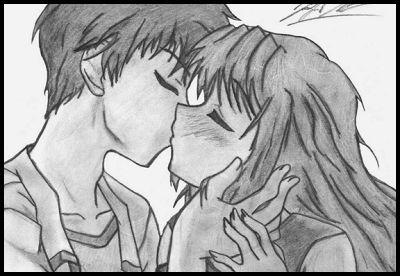 dibujos romanticos de amor a lapiz para descargar