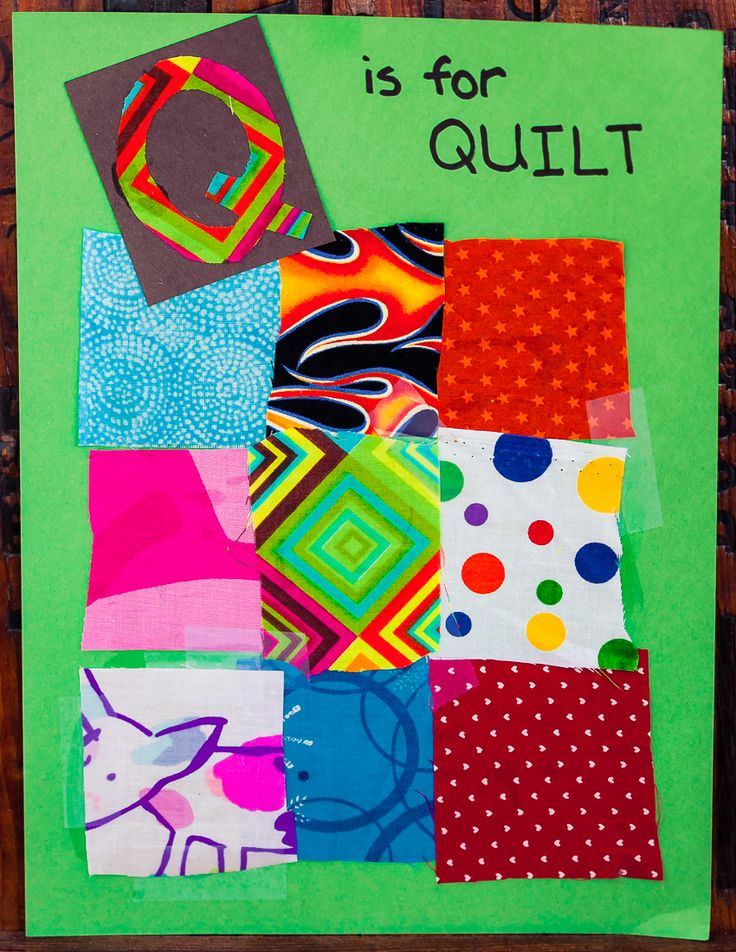 Q Is For Quilt Q is for Quilt. They e...