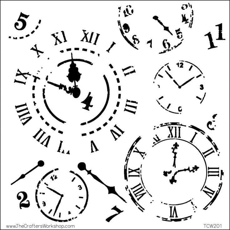 Best Gears Clocks Keys Silhouettes Vectors Clipart Svg
