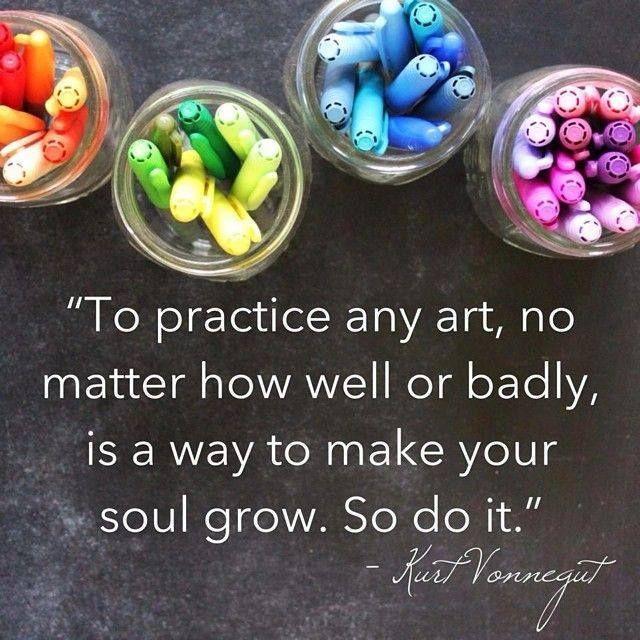 .Kurt Vonnegut Quote | Creativity For Life | http://creativityforlife.com | #quote #creativity