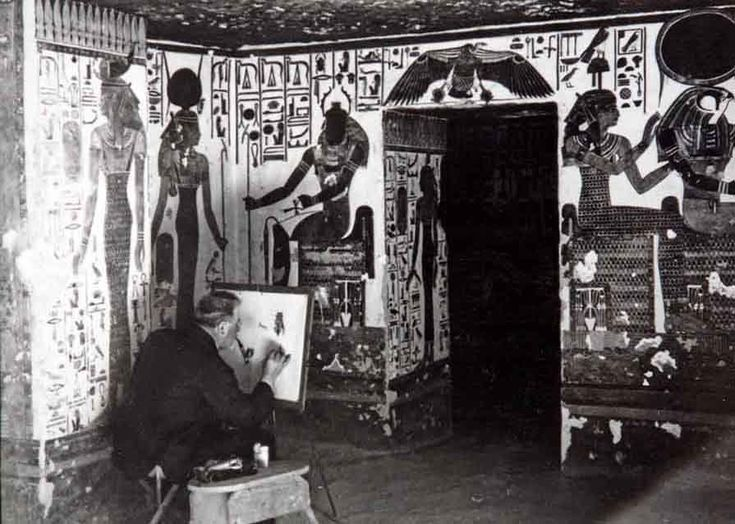 Missione Egitto 1903 - 1920 - La storia MAI raccontata - La tomba di Nefertari #torino #exhibition