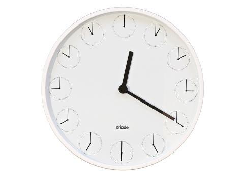 """Wanduhr """"Clock in Clock"""" von Nendo für Driade - [SCHÖNER WOHNEN]"""