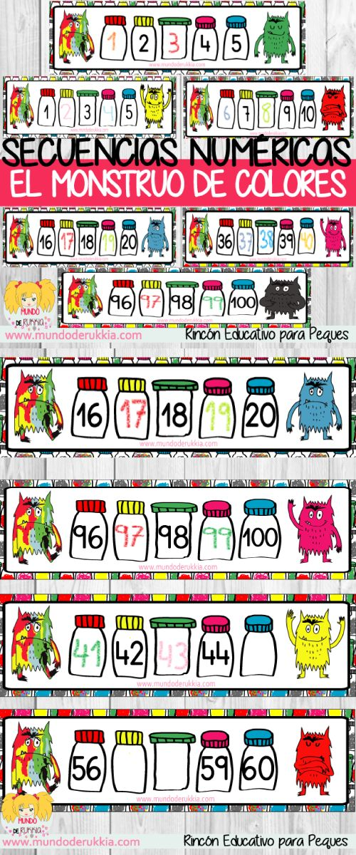 ficha completa la serie, ficha continua la serie, ficha monstruo de colores, ficha pensamiento logico, actividad monstruo de colores, seriacion, serie, juegos de seriacion, seriacion preescolar, seriacion infantil, seriacion primaria, the colour monster, secuencias numericas, series numericas,series numericas preescolar, series numericas infantil, series numericas primaria, el monstruo de colores actividades, el monstruo de colores descargar, the colour monster activities printable