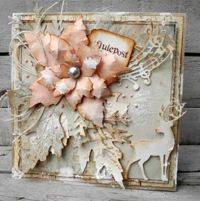 piabau: Christmas card in delicate colors