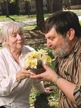 The Power of Flowers  Researchers Jeannette Haviland-Jones and her husband, Terry McGuire, offer convincing evidence that flowers may be potent mood elevators.