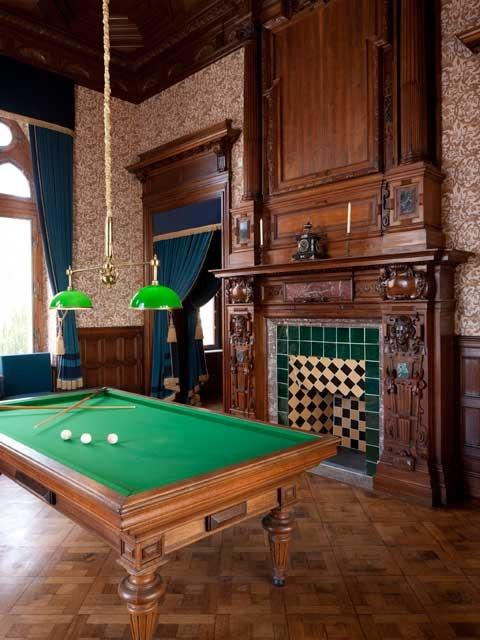 Schloß Drachenburg.  .  the Billiard Room  .