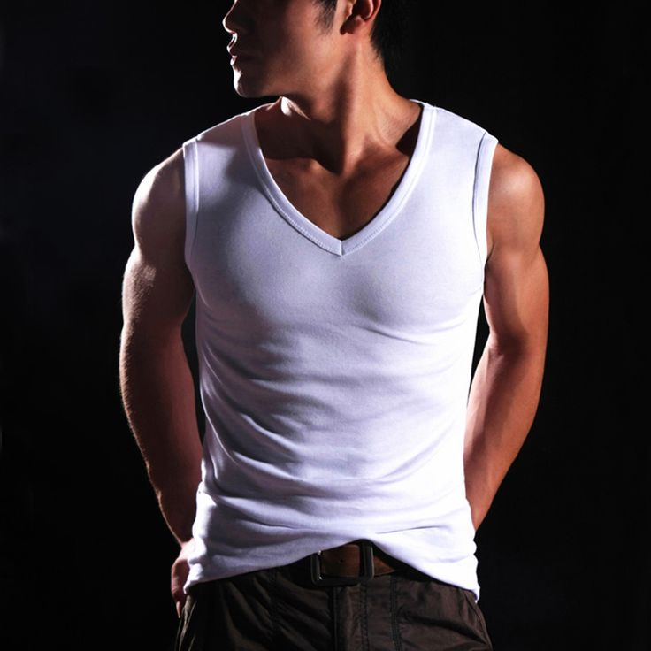 Find More Tank Tops Information about HOT 2017 New Men  Clothing  Sleeveless Vest Undershirt Men Cheap Tank Top Fitness Men Canotte Bodybuilding Clothing Q849,High Quality top 10 jeans men,China top theme Suppliers, Cheap top gear from URan Store on Aliexpress.com