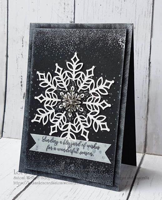 Snowflake Showcase Satomi Wellard-Independent Stampin\'Up ...