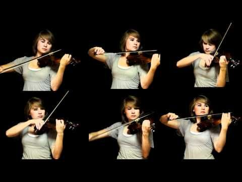 "{The Avengers Theme - Violins - Taylor Davis - YouTube} I believe this would qualify as an ""eargasm""."