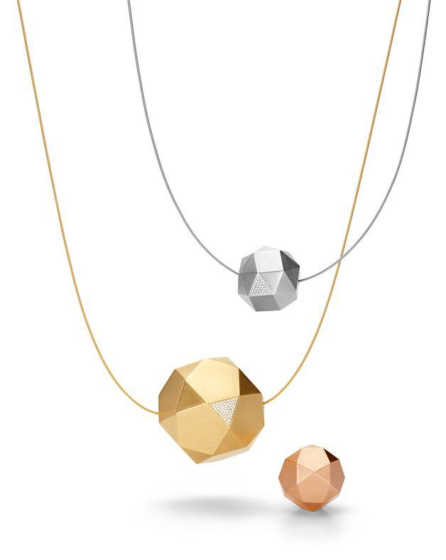 Niessing Kristallit Jewellery - reddot award 2015 by Nina Georgia Friesleben, Germany for www.niessing.com