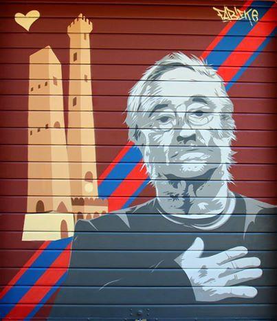 Street art con il cuore di #Bologna. La foto è di Fabio Del Monte (aka Fabieke, foto presa da qui > http://on.fb.me/1pfbhYC)
