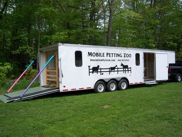 I'm bringing this mobile petting zoo to campus for a pre-finals animal therapy program. SO EXCITED.