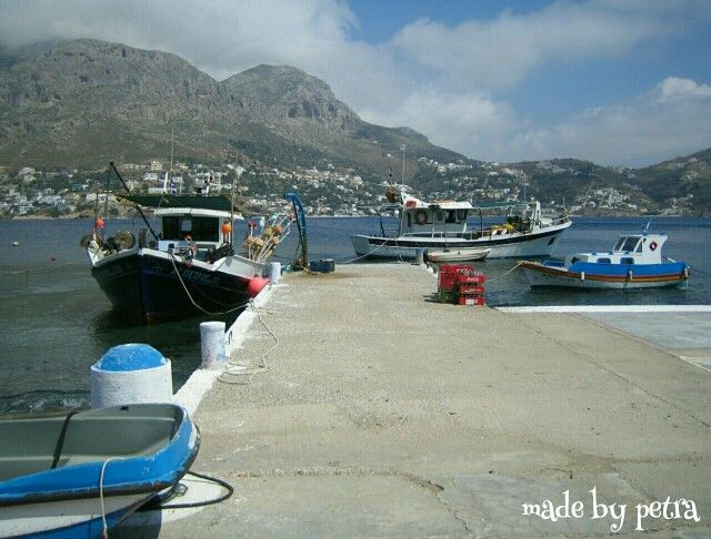 Taxi-boat from kalymnos to telendos and back