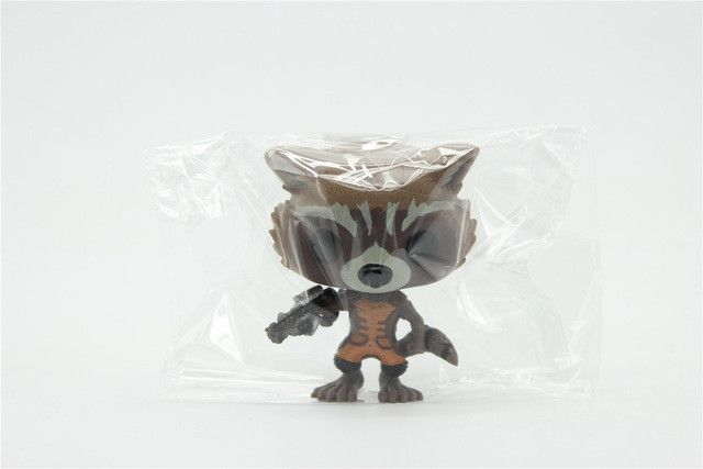 Chanycore Funko pop Bobble Head Groot Star-Lord Rocket Drax Gamora Tree man Guardians of the Galaxy Anime Vinyl PVC model toy