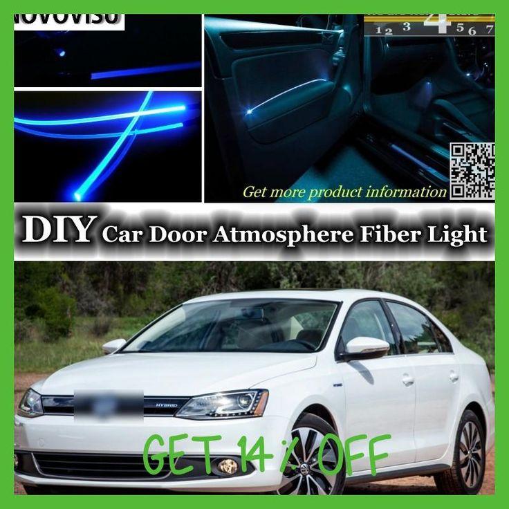 NOVOVISU For Volkswagen VW Jetta Bora Clasico GLi Sagitar Vento New Compact interior Ambient Light Tuning Atmosphere Fiber Optic