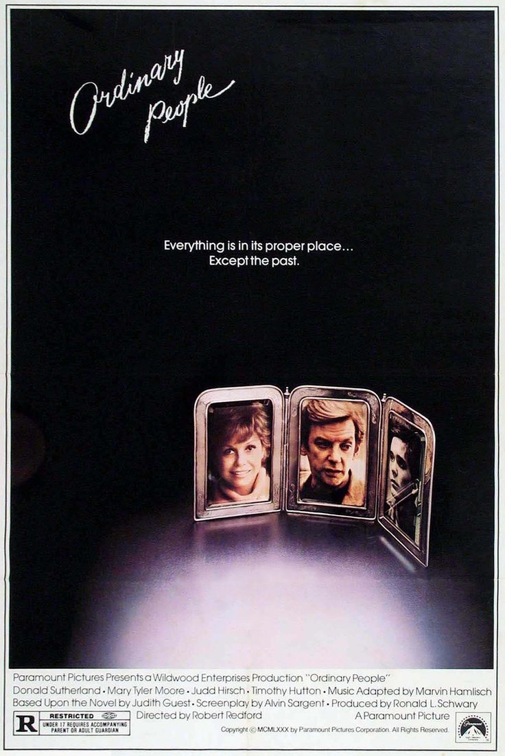 ordinary people 1980 movie posters 1980s