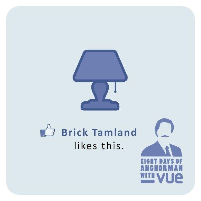"""Brick Tamland likes Lamp."" Classic from Anchorman"