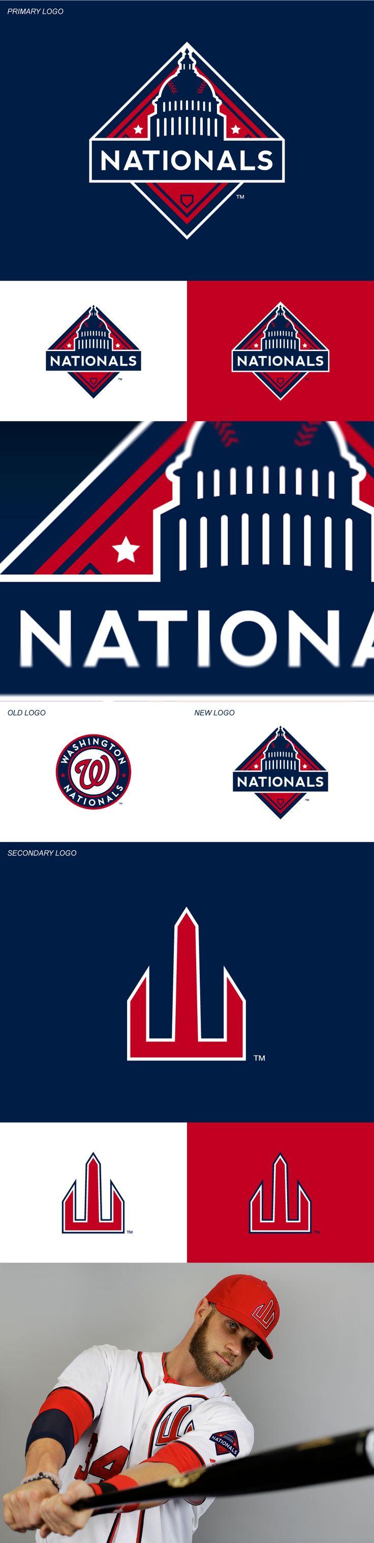 Washington Nationals Rebrand Concept on Behance Baseball