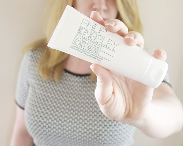 This exfoliating mask by Philip Kingsley reduces flaking and soothes your scalp.