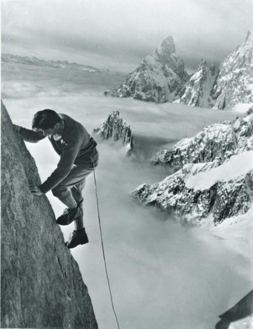 Patrick Karpinskas Climber Walter Bonatti