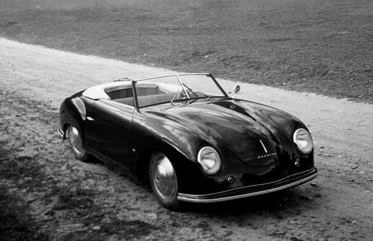 """""""Porsche Number 1"""". This 1948 Porsche 356 Cabrio was for first real Porsche built by Ferdinand """"Ferry"""" Porsche."""
