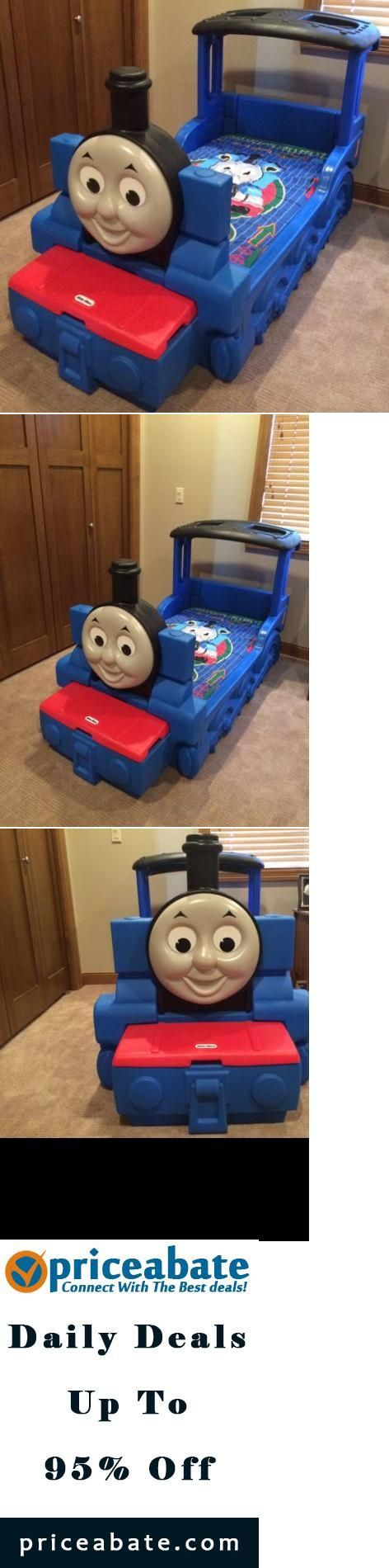 Little tikes thomas the train bed -  Priceabatedeals Thomas The Train Little Tikes Toddler Bed Crib Matress And Comforter Included