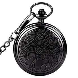 Color:Black Dr. Who Confession Dial Features: 1.Steampunk Doctor Who (Dr. Who) Black Case quartz pocket watch 2.100% brand new with excellent workmanship 3.Elegant design with precise quartz movement 4.With Removable Necklace chain 5.Nice addition to a formal or casual dressing or collecting 6.Color may not appear as exactly as in real life due to variations […]