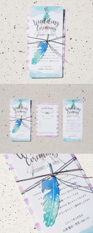 結婚式ペーパーアイテム -招待状- wedding paper item -invitation- オリジナル オーダーメイド your-big-day tipi