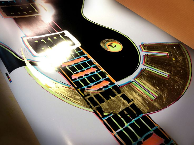 My Guitar - 70x100