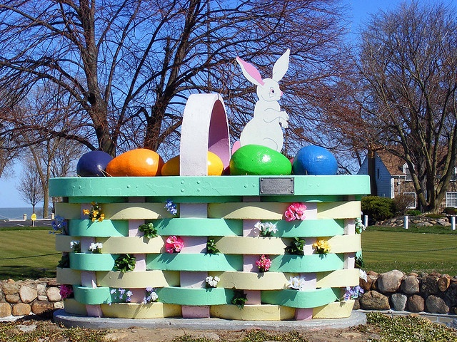 The Easter Basket Lakeview Park  Lorain, Ohio, Omg I remember this from 40 some years ago. The city where I was born.