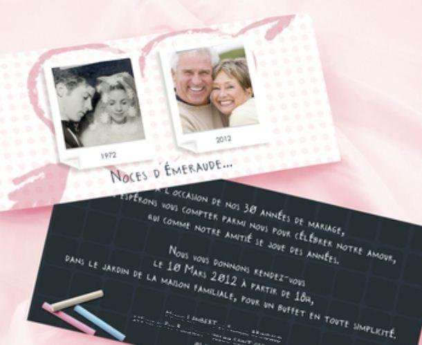Anniversaire de marriage 5 ans cartel