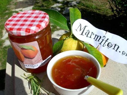 Confiture d'oranges amères - Recette de cuisine Marmiton : une recette