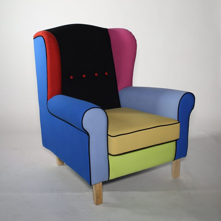 Colorful wingchair