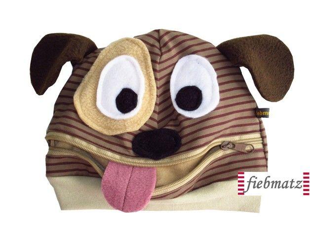Mützen - Monster Freche MÜTZLI Hund Wau Wau Mütze - ein Designerstück von Fiebmatz bei DaWanda