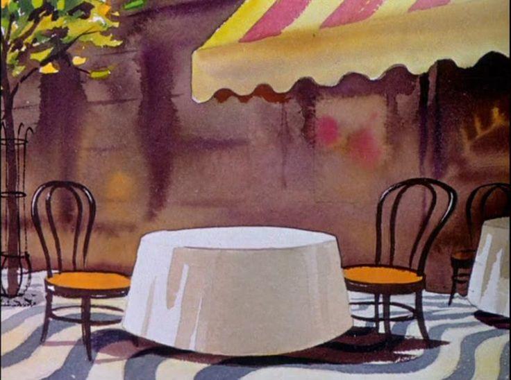 """""""SALUDOS AMIGOS"""" Background Artwork (1943)"""