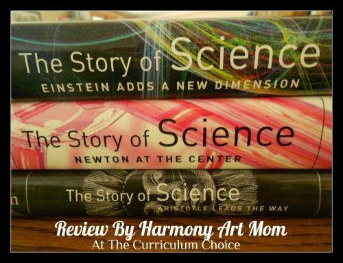 The Story of Science series from Joy Hakim is colorful, interesting, and fits in with a chronological study of science perfectly. Review by @Barb Peterson Peterson Peterson