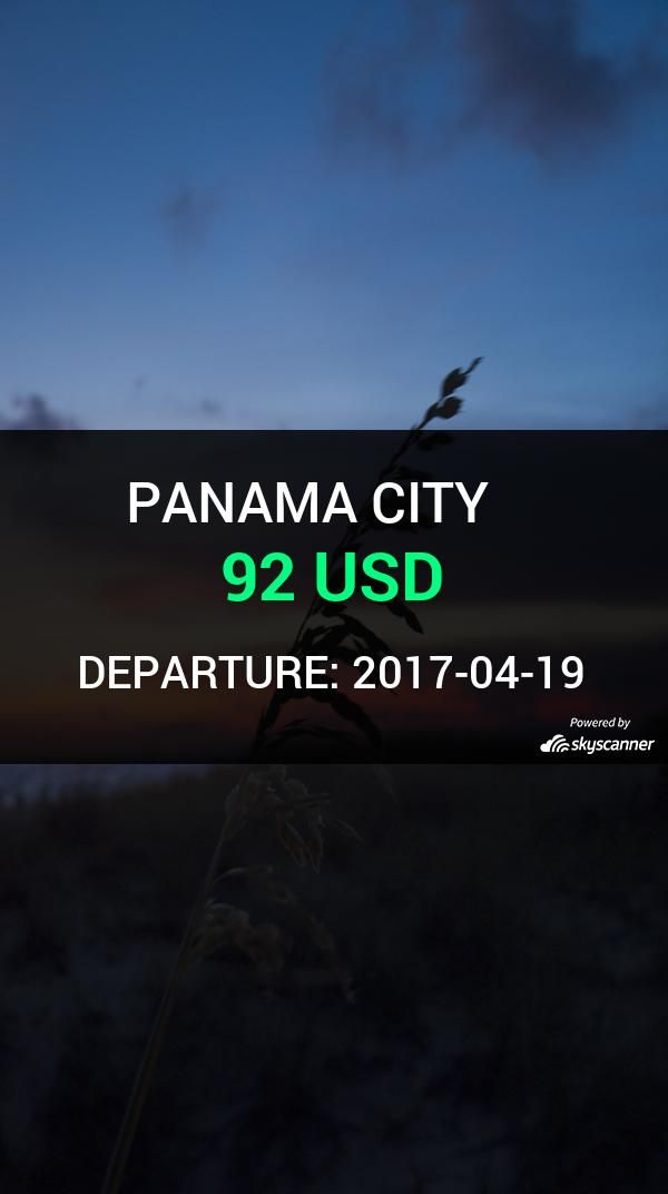 Flight from Orlando to Panama City by Spirit Airlines #travel #ticket #flight #deals   BOOK NOW >>>