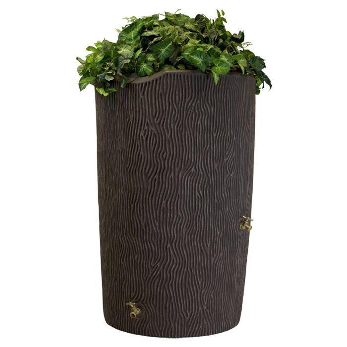 Impressions 90 Gallon Rain Barrel in Oak