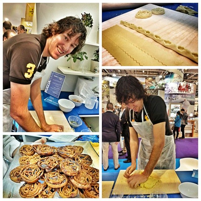 """What is a """"cartellata""""? Ask @Erin Bender, he is the king in making them! :)  #WTM13 #WeAreinPuglia"""